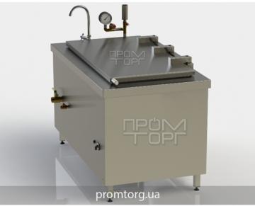 электрокотел 250 л пищеварочный промышленный с прямоугольной чашей