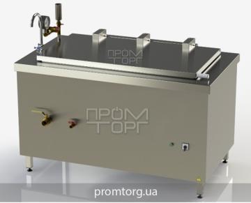 пищеварочный котел на 250 л с прямоугольной чашей промышленный