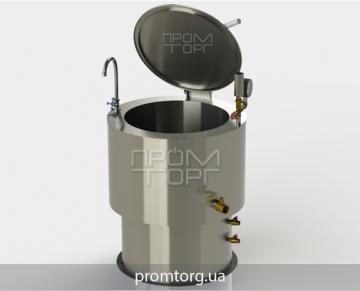 пищеварочный промышленный электрокотел с круглой чашей на 100 л