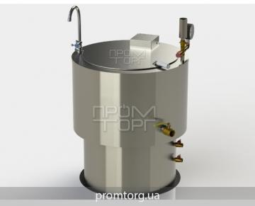 электрокотел пищеварочный 100 л промышленный с круглой чашей