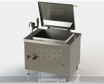котел электрический 100 л пищеварочный промышленный с прямоугольной чашей