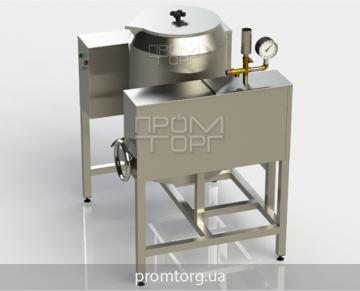 пищеварочный электрокотел с круглой чашей промышленный на 60 л