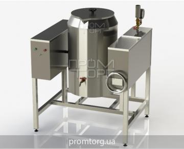 электрический пищеварочный котел на 60 л промышленный с круглой чашей