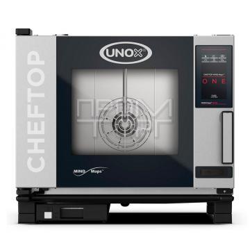 Пароконвектомат инжекторный Unox XEVC 0511 E1R линия ONE купить в Белой Церкви