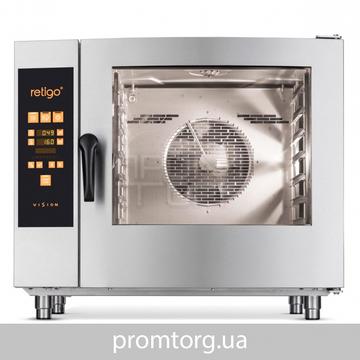 Пароконвектомат профессиональный бойлерный RETIGO Orange Vision O 611 B купить в Белой Церкви
