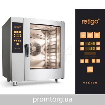 Пароконвектомат газового типа RETIGO Orange Vision O 1011 IG купить в Белой Церкви