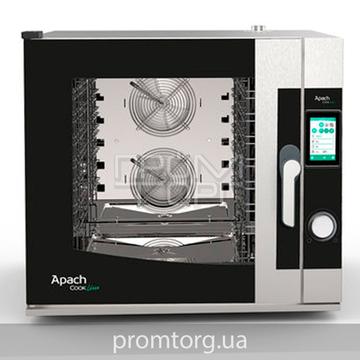Пароконвектомат инжекторный профессиональный Apach Squero AP7QT купить в Белой Церкви