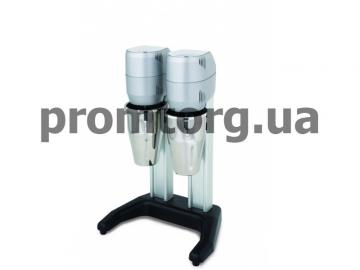 Миксер двойной Apach AMX2 для молочных коктейлей стаканы  с нержавеющей стали по 0,8 л
