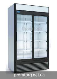 Шкаф холодильный со стеклянной дверью Капри Украина Промторг