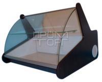 Настольная витрина Премиум с гнутым стеклом