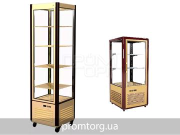 Витрина шкаф Полюс Carboma для кондитерских изделий на 120 и 400л