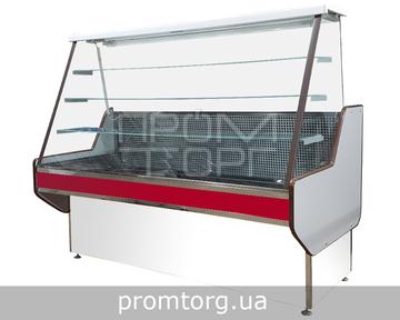 Кондитерская холодильная витрина Конди с прямым стеклом