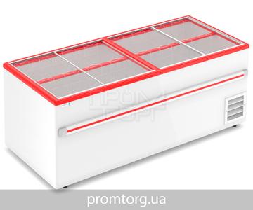 Морозильный ларь-бонета Frostor F 2000 В, F 2500 В с прямым стеклом