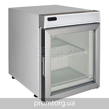 Морозильный шкаф барный Crystal CRTF 70 со стеклянной дверью