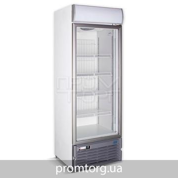 Шкаф морозильный со стеклянной дверью Crystal на 500 л вентилируемый