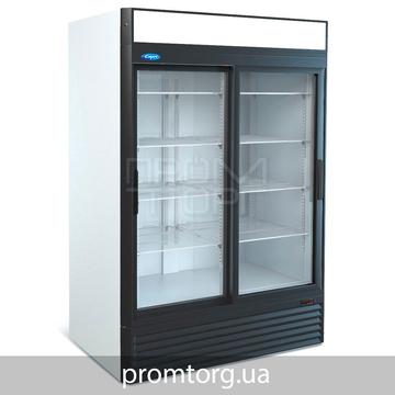 Шкаф холодильный с 2-мя стеклянными дверьми купе Капри на 1100 и 1500 л
