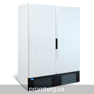 Шкаф морозильный Капри на 2 глухие двери на 1100 и 1500 л