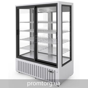 Стеклянный Холодильный шкаф-купе Эльтон на 1500 л