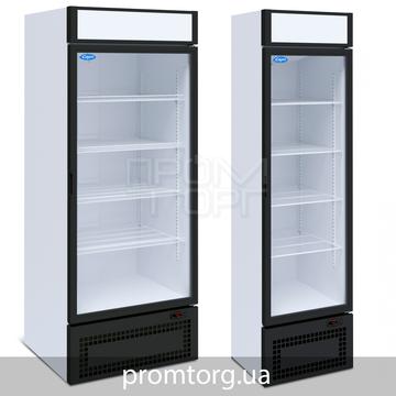 Универсальный шкаф со стеклянной дверью на 500 и 700 л