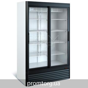 Среднетемпературный холодильный шкаф с раздвижной дверью на 800 л