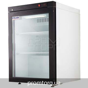 Барный низкотемпературный шкаф стеклянный на одну дверь Polair DP102-S на 150 л