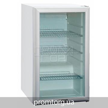 Барный холодильный шкаф со стеклянной дверью на 105 л HURAKAN