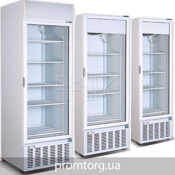Стеклянные холодильные шкафы Crystal на 300, 400, 500 и 600 л