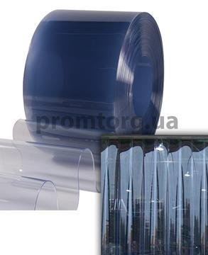 Широкая ПВХ штора силиконовая 400*3 мм