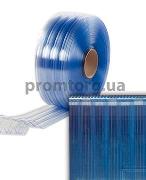 Ребристая ПВХ завеса ленточная силиконовая производства Франция 200*2 мм