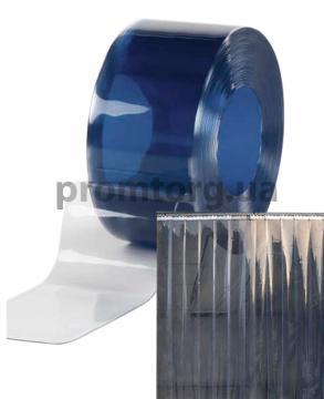 Силиконовая ПВХ штора узкая ленточного типа прозрачная 200*2 мм купить в Чернигове